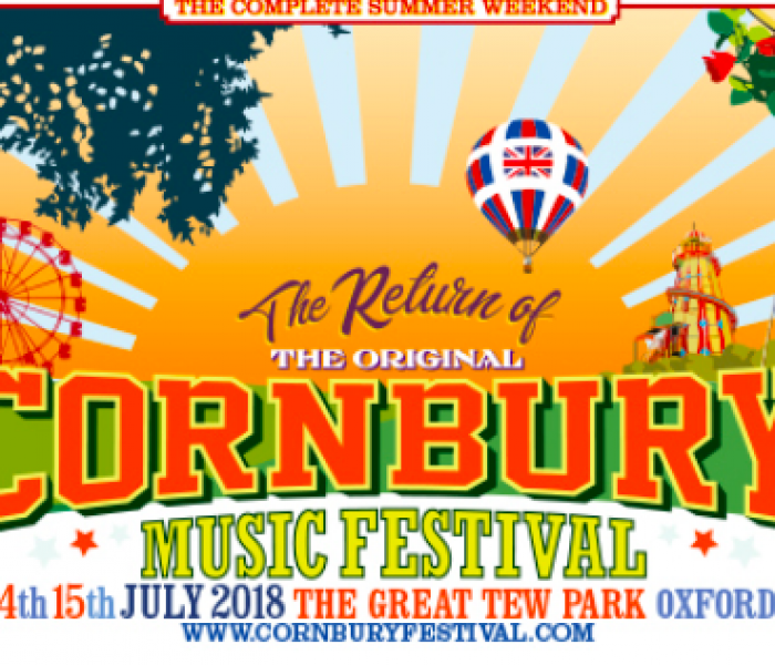 Full weekend line up announced at Cornbury Festival in Oxfordshire