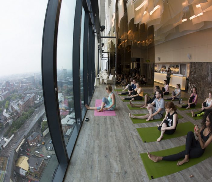 Sunrise Yoga: Downward Dog with a View