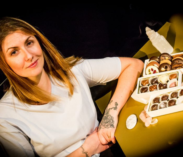 Meet Claire Gilbertson – the crystal-infused, reiki-charged Spiritual Chocolatier