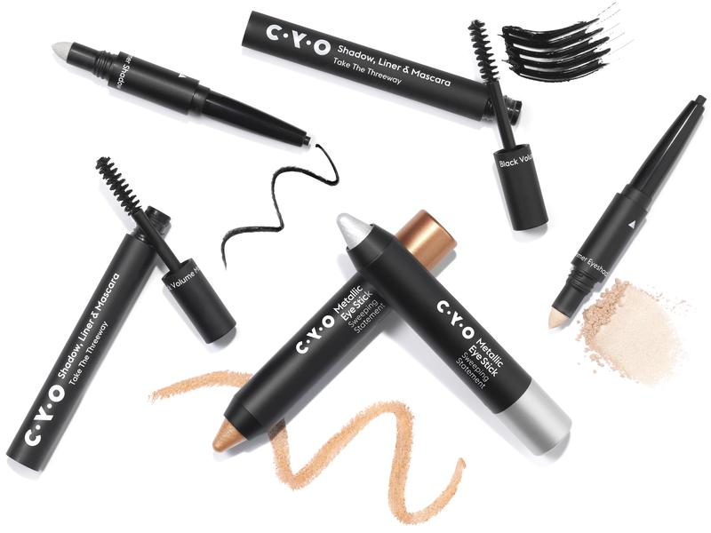 Shadow - Liner - Mascara - Metallic Eye Stick | CYO PR