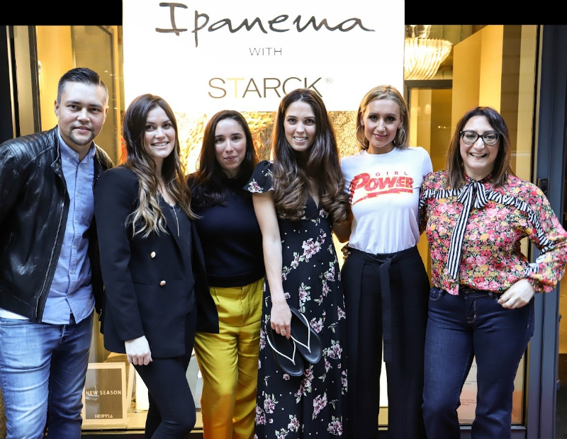 Cath Tyldesley Martine Alexander Hervia Manchester SS18 Showcase Ipanema Starck