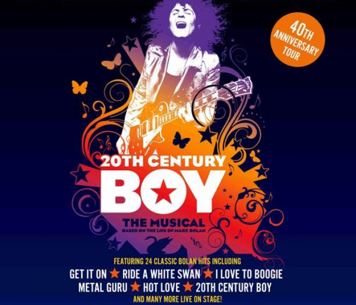 20th Century Boy – The Smash Hit Marc Bolan Musical Comes to the Manchester Opera House