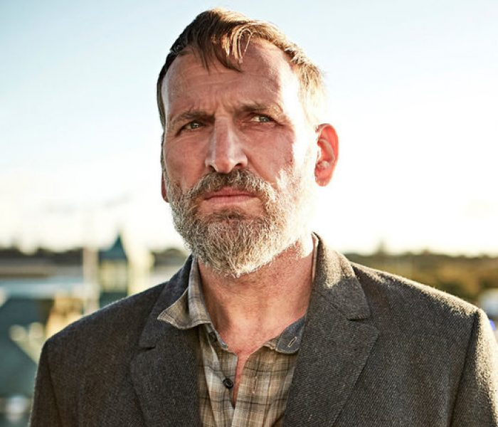 Christopher Eccleston and Julie Hesmondhalgh at Pilot Light TV Festival