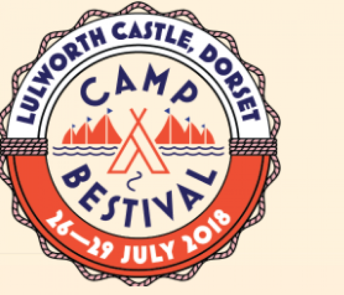CAMP BESTIVAL SETS SAIL!   Lulworth Castle   26-29 July 2018