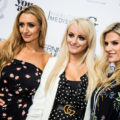Coronation Street actresses join hairstylist to the stars Calum Tierney at the launch of Terence Paul in Hale