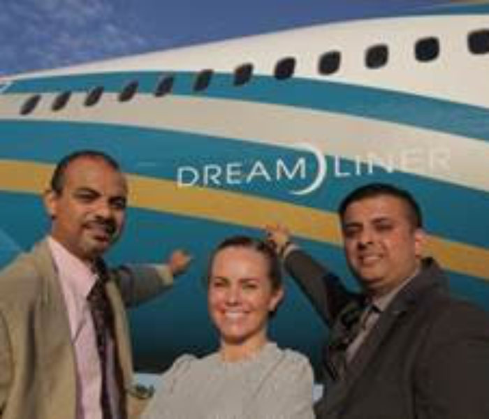 Oman Air celebrates first anniversary at Manchester Airport with new Dreamliner as it prepares for rapid passenger growth