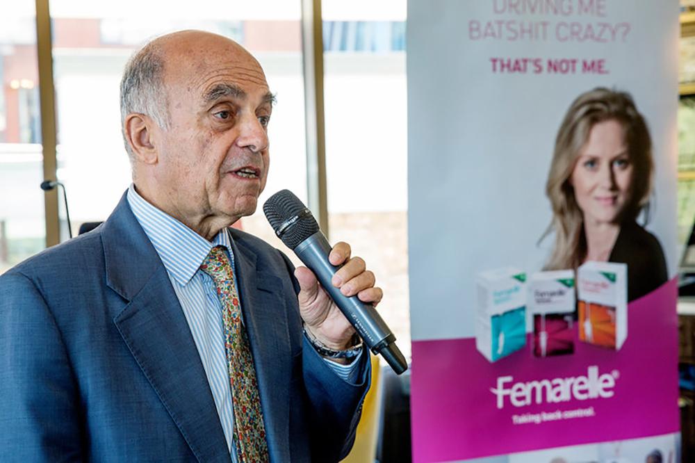 Professor Andrea Gamazzani - Femarelle launch