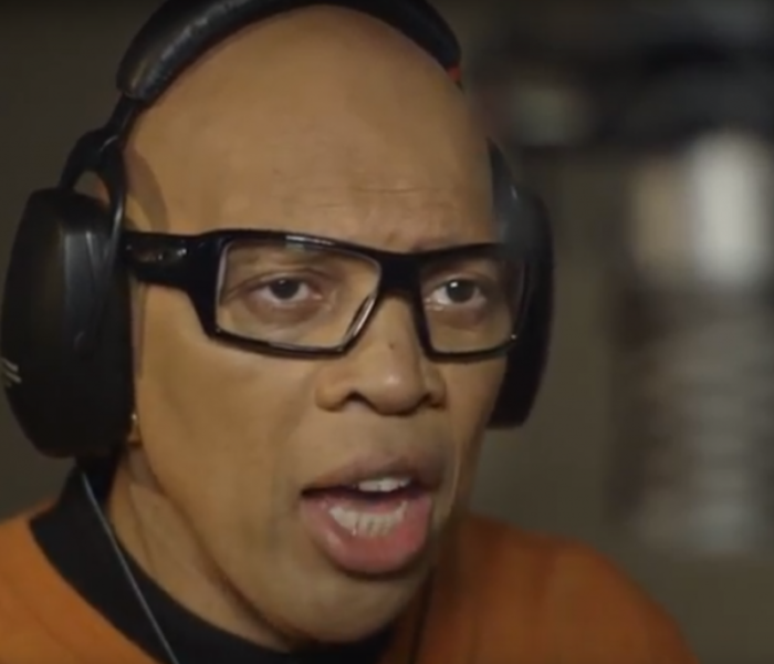 Voice-over king, Redd Pepper, has insured his vocal cords for £10million