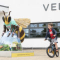 Bye-bye bees! See all of the big bees together for the last time at the 'Bee in the City Farewell Weekend'