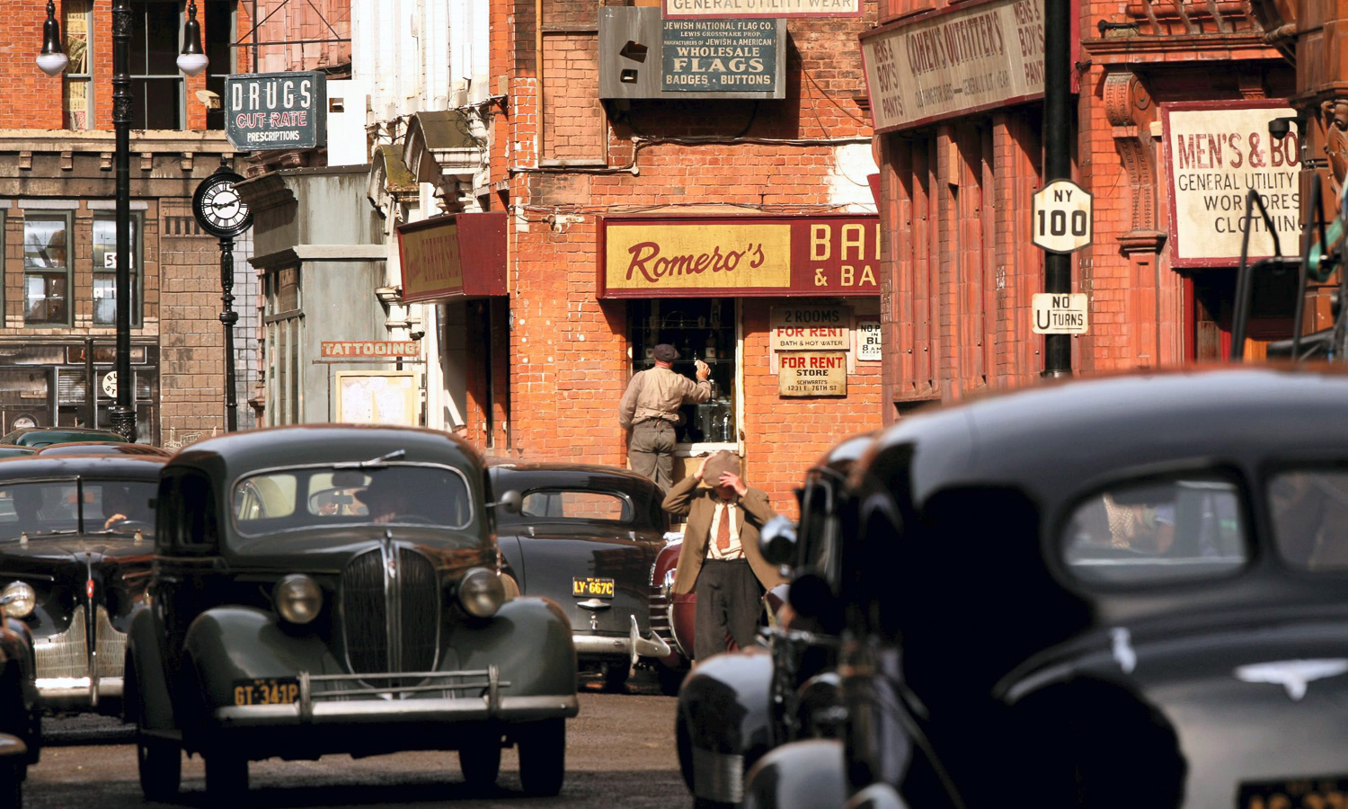 this free walking tour of famous film locations and television