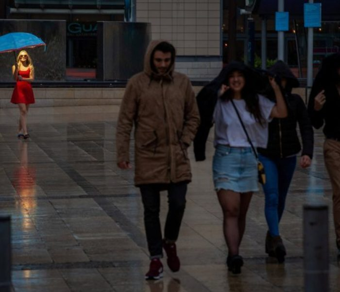 Beat post-holiday blues with these new high-tech 'Holi-Brollies'