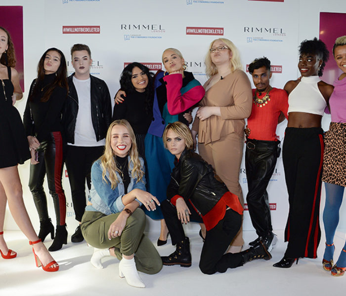 Cara Delevinge & Rita Ora back Rimmel's #IWILLNOTBEDELETED campaign