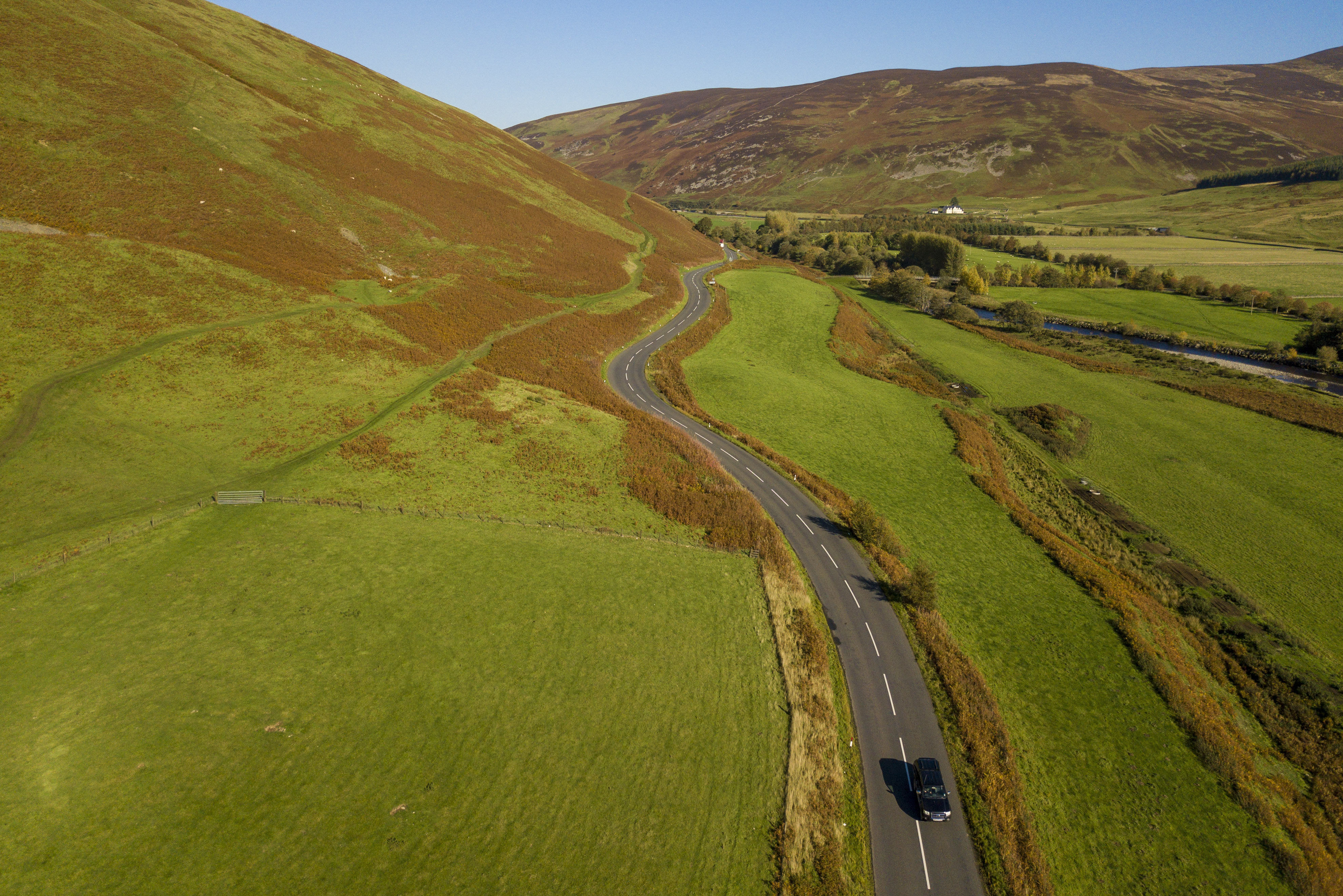 The A701 from Moffat to Edinburgh in the Scottish Borders, which is one of the UKs best driving roads. Oct 10 2018