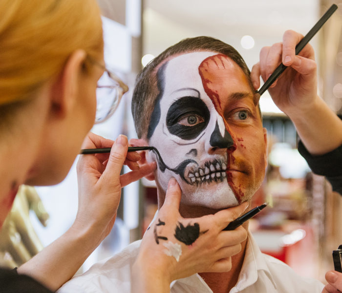 There's a Halloween beauty party at Selfridges