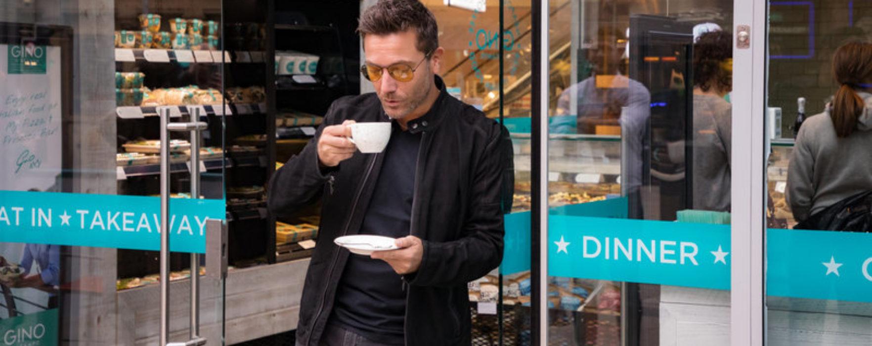 Gino D'Acampo launches My Coffee & Deli Bar