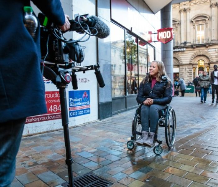 Paralympian Hannah Cockroft MBE investigates inaccessibility on the high street