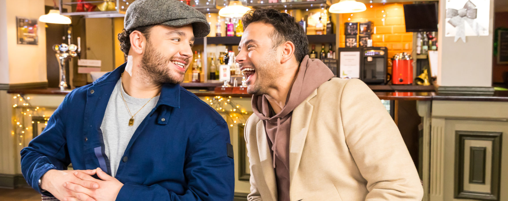 Soapstar brothers Ryan and Adam Thomas launch campaign to tackle social isolation
