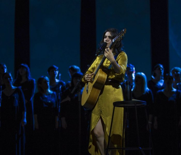 Katie Melua channels nostalgia at the opening of her new tour