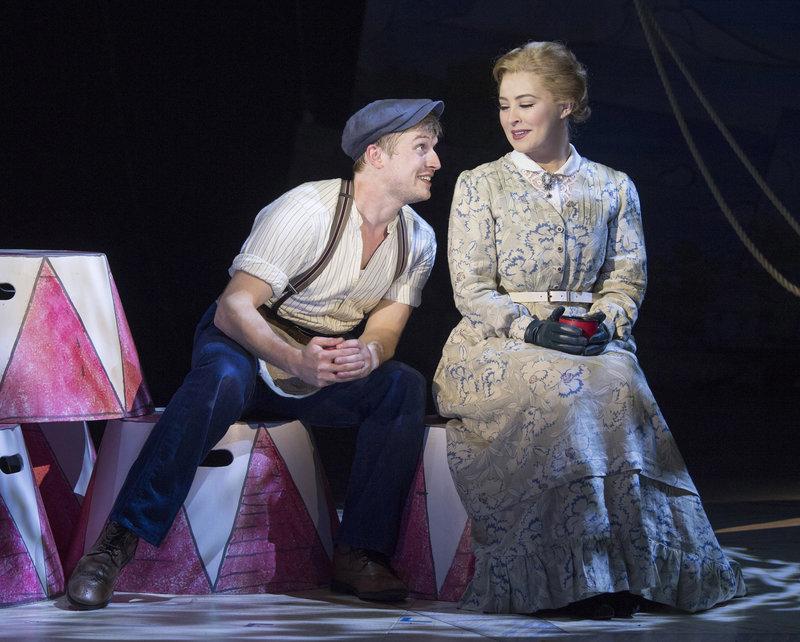 Matthew Mug (Patrick Sullivan) and Emma Fairfax (Mollie Melia-Redgrave)