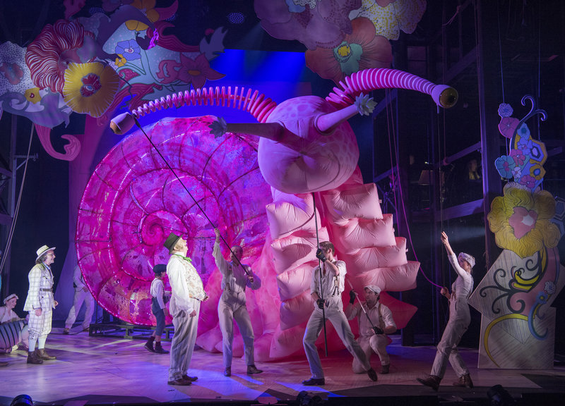 Doctor Dolittle (Mark Williams) and the Giant Pink Snail