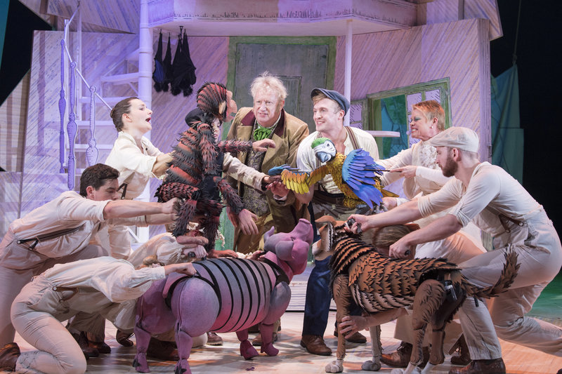 The Cast of Doctor Dolittle The Musical