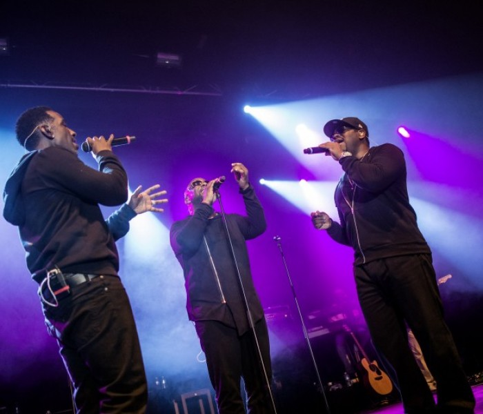 Next Level Elation from R&B Titans Boyz II Men