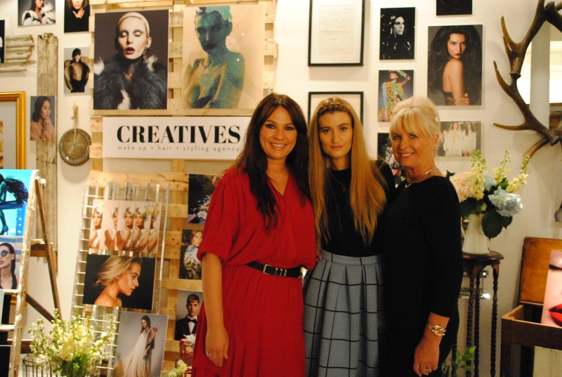Cassie Lomas with sister Charley Webb and mother Helen Webb