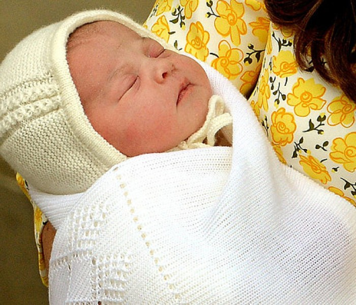 Welcome To The World Princess Charlotte of Cambridge