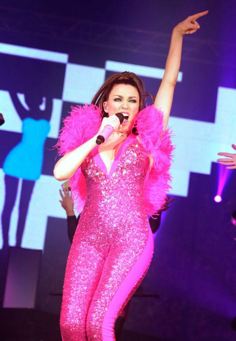 Dannii Minogue smaller