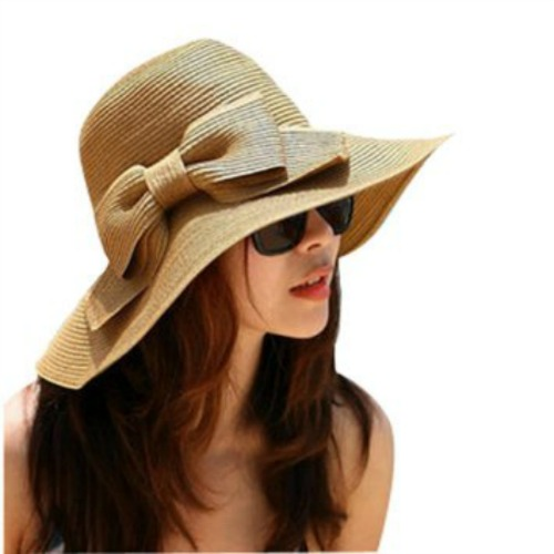 Protection: Hairtrade.com recommend wearing a sun hat or tying your hair up to avoid a sun burnt scalp.
