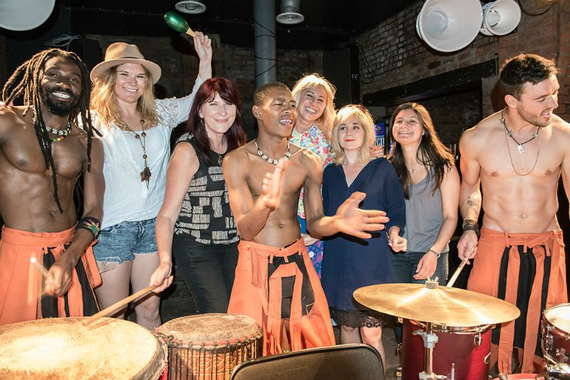 VIVA and Drum tribe bigger