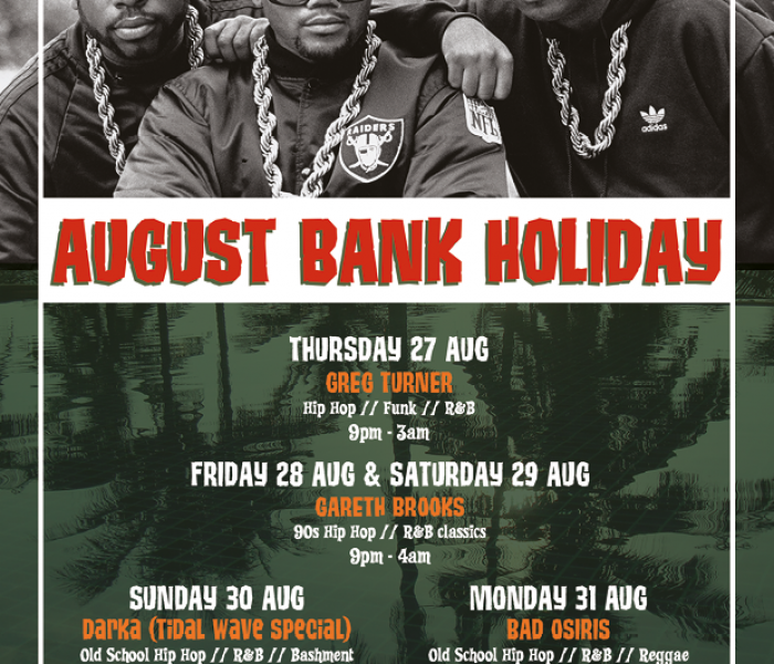Hula Bank Holiday Event This Weekend
