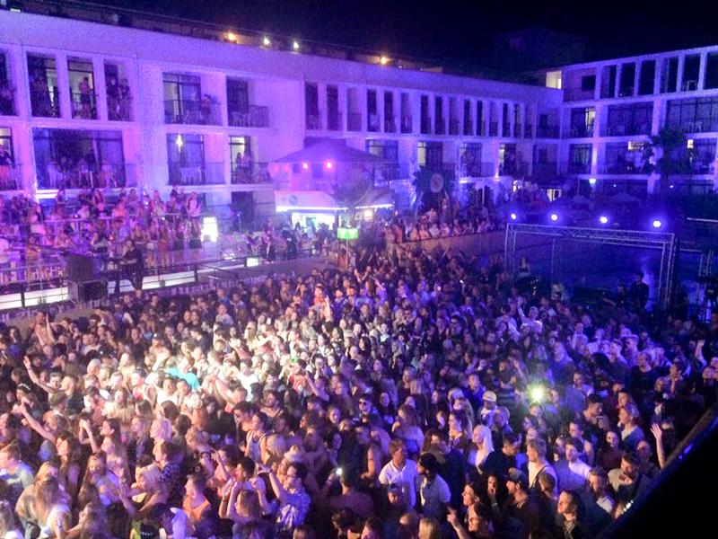 Ibiza Rocks Sigma crowd