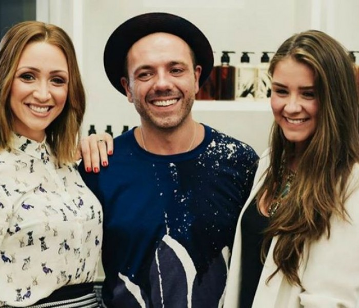 London Hair Stylists to the Stars Windle & Moodie Team Up with Manchester's Reuben Wood
