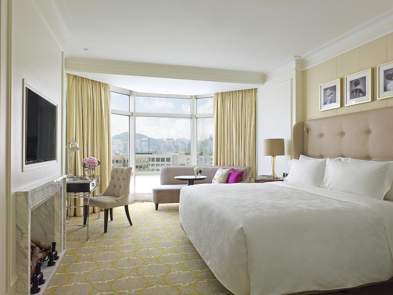 Grand Langham room in Hong Kong