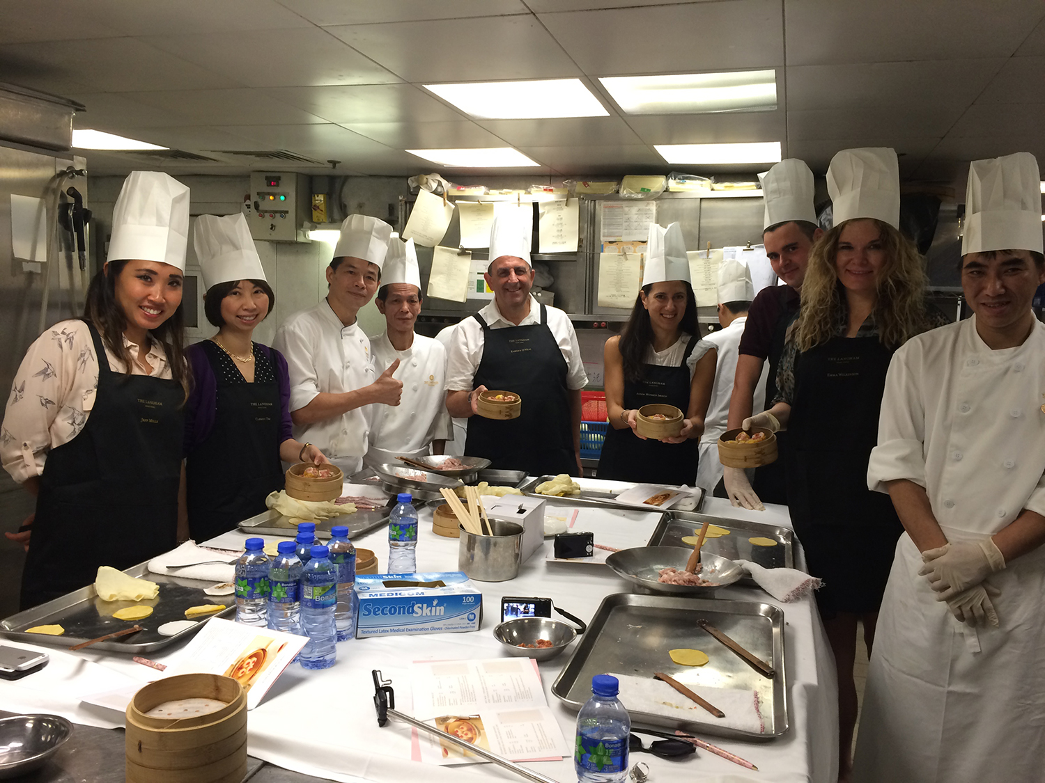Dim Sum workshop with Michelin star chef Kwong
