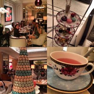 Laduree Afternoon tea