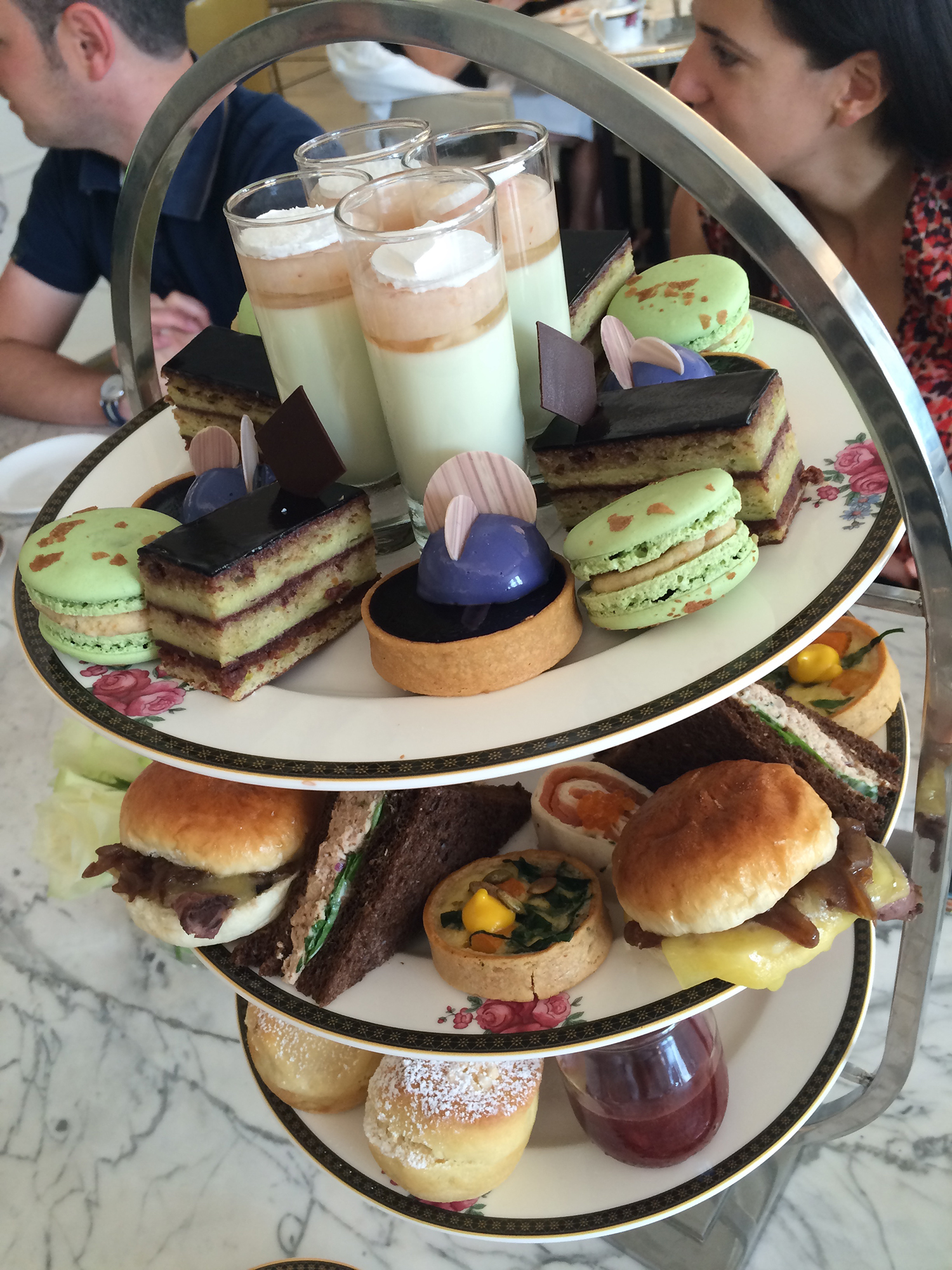 Afternoon tea in Palm Court