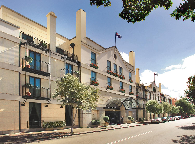 Outside the Sydney Langham