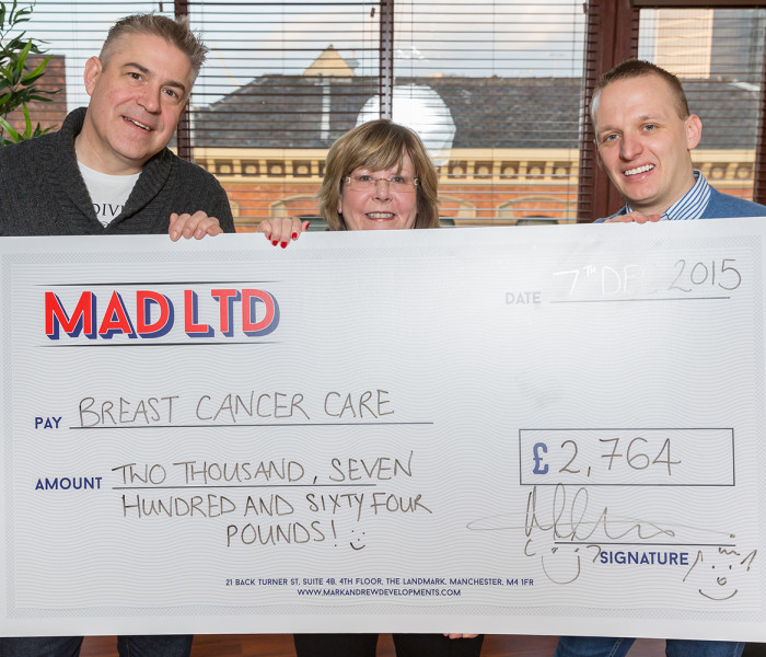 Hula Manchester Raises Over £2500 For Breast Cancer Care