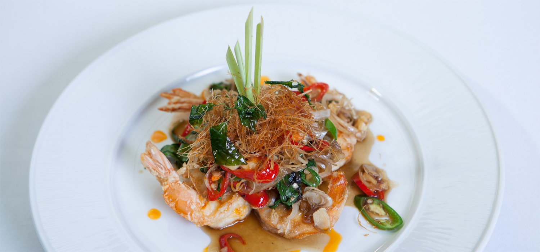 Traditional Thai food at Sala Thai