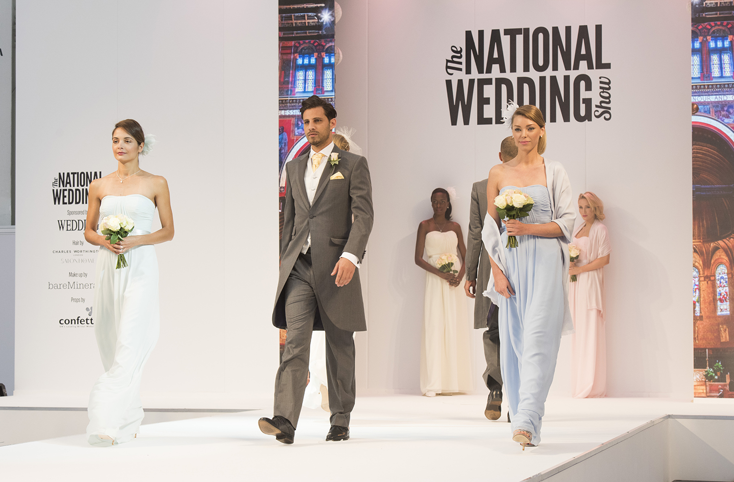 The Catwalk at The National Wedding Show
