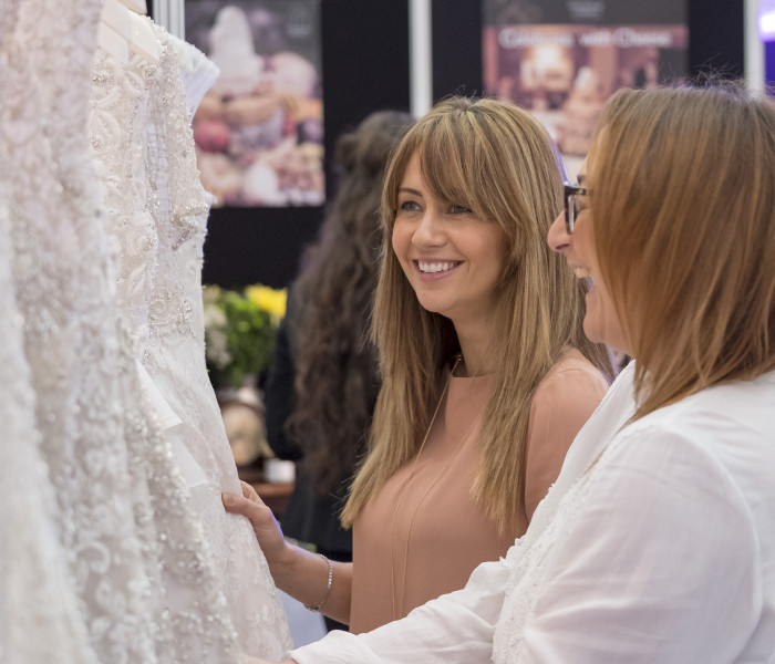 Here Comes the Bride! Samia Ghadie Spotted At Bride: The Wedding Show