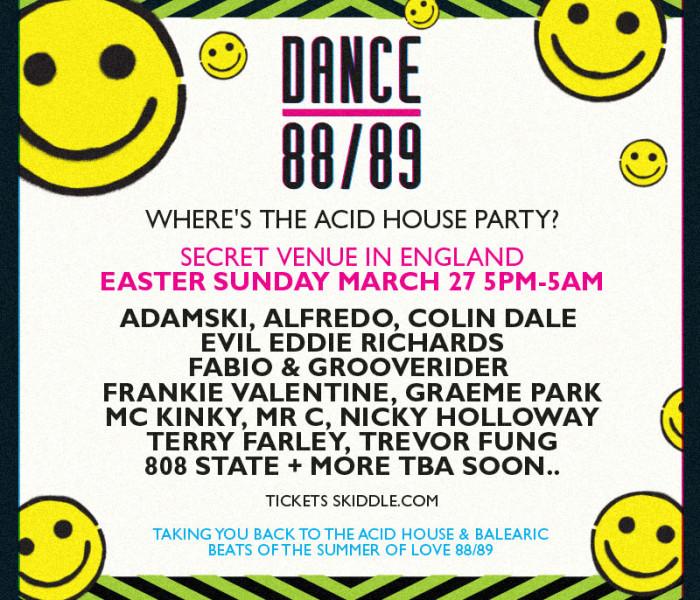 Sankey's Announce New Series Of Secret Raves 'Dance 89/89'