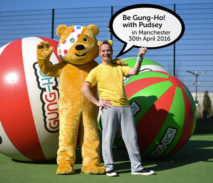Manchester Goes Gung-Ho! With BBC Children In Need