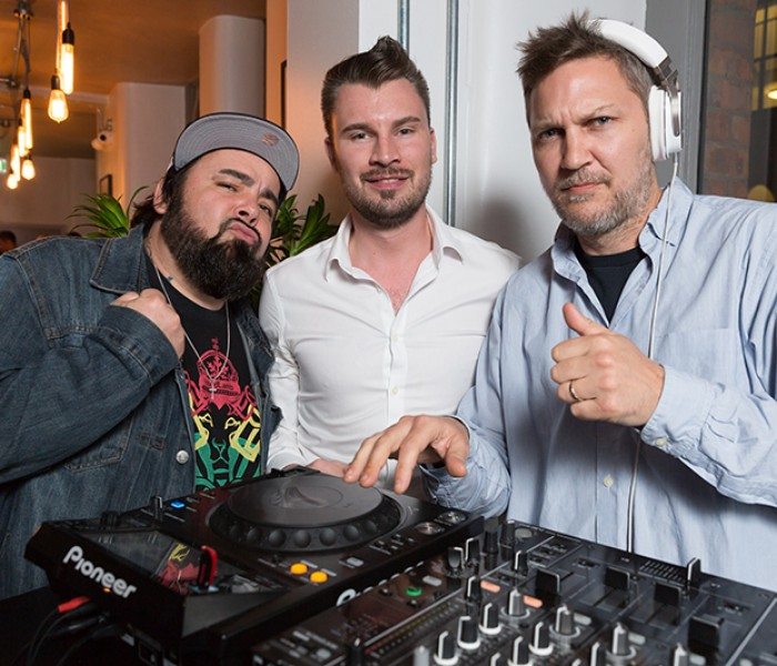VIVA Ems Joins Fun Lovin' Criminals To Rock Urban Cookhouse's First Birthday Bash And She's Back With Them Again Tonight