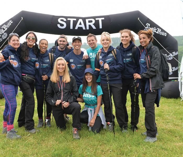 TREKFEST Team Vital Take On Brecon Beacons In Aid Of  Super Josh And Parkinson's UK