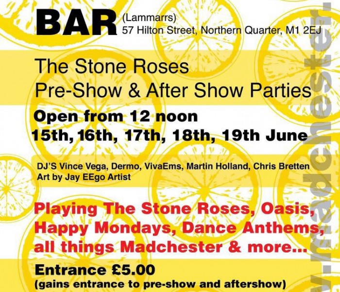 Lammarrs: The MADCHESTER Bar