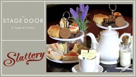 afternoon tea at the stage door bar