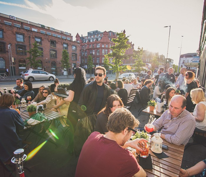 Manchester's First Bloom Gin Terrace Set To Open For The Summer At Rosylee